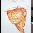 Charle_Bronson_portrait_painting_in_process