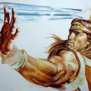 Arnold_Schwarzenegger_portraitConan_painting_movie_poster_step_3