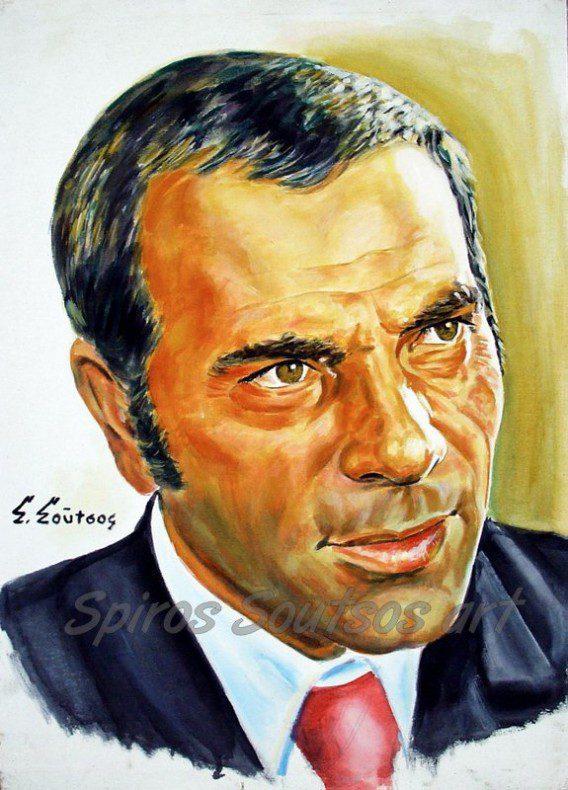 Stelios_Kazantzidis_portraito_afisa_poster_pinakas_zografikis