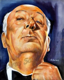 Alfred_hitchcock-painting_poster_portrait_acrylic_canvas
