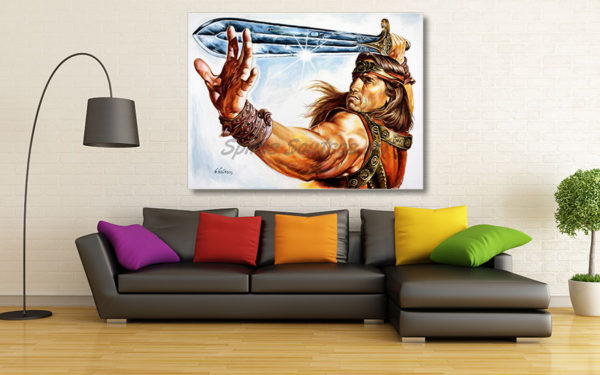 conan_the_barbarian_arnold_schwarzenegger_poster_print_canvas_portrait_best_price