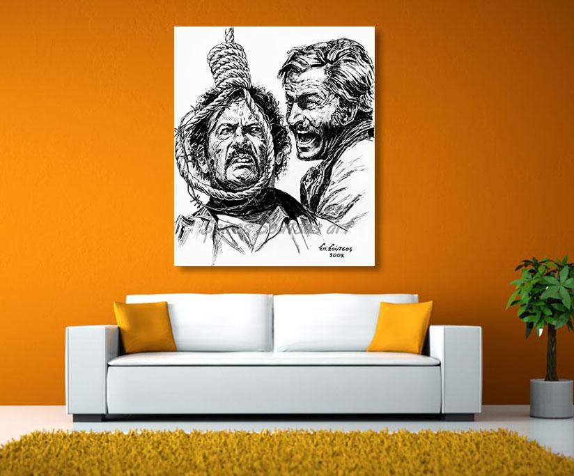 eli_wallach_franco_nero_spaghetti_western_canvas_poster_print