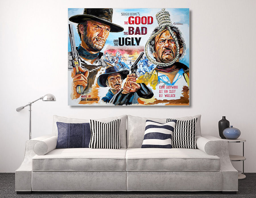 good_bad_ugly_eastwood_canvas_print_poster
