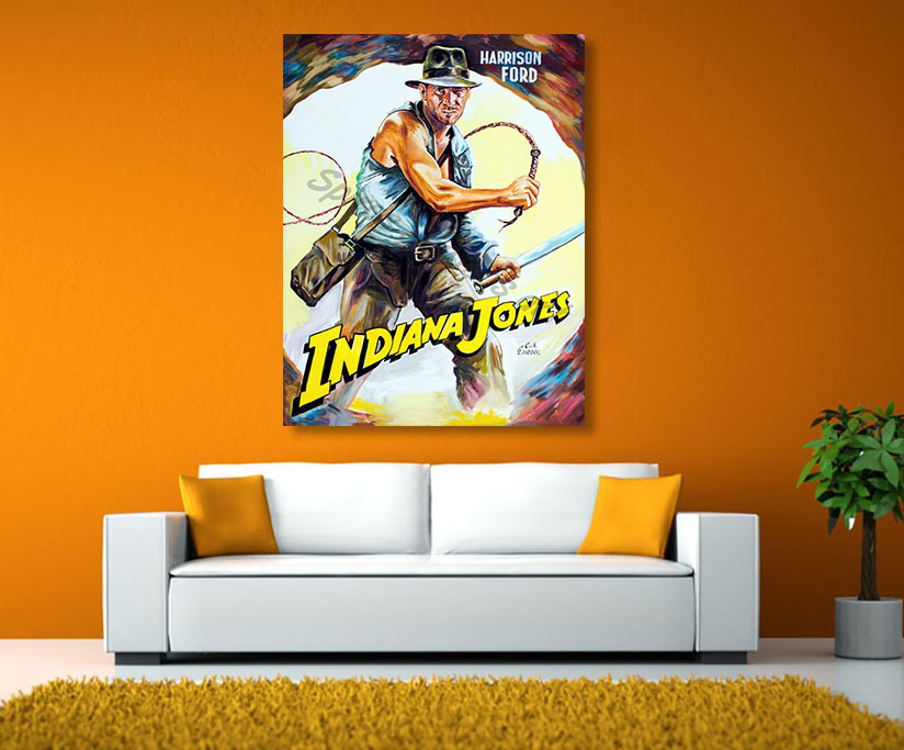 harrison_ford_poster_print_canvas_giclee_indiana_jones
