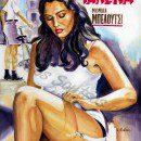 malena_monica_belluci_movie_poster_painting_acrylic_portrait
