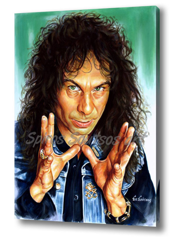 ronnie_james_dio_canvas_print_poster_painting