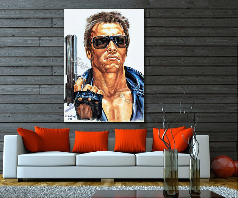 terminator_movie_poster_acrylic_painting_arnold_swarzenegger_portrait_print
