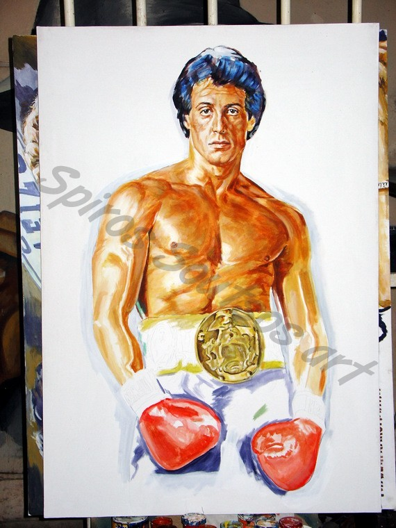 rocky_painting_movie_poster_canvas_stallone