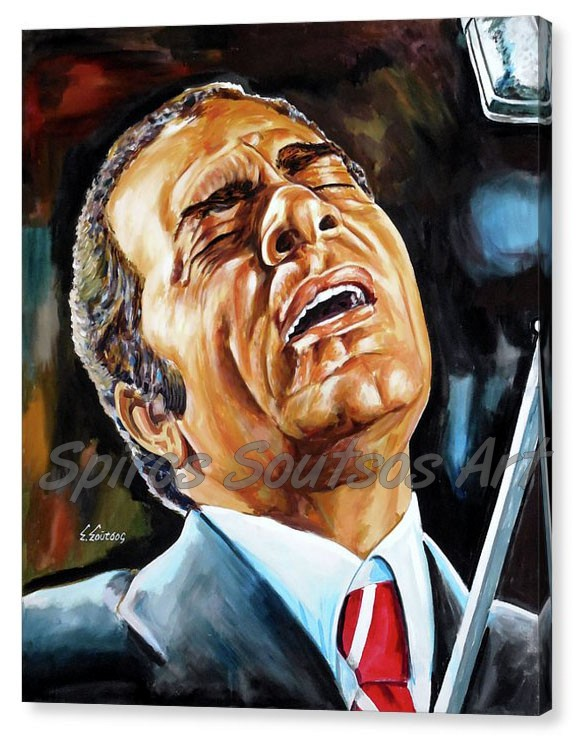 Stelios_kazantzidis_uparxo_portraito_pinakas_zografikis_canvas_print_poster_painting