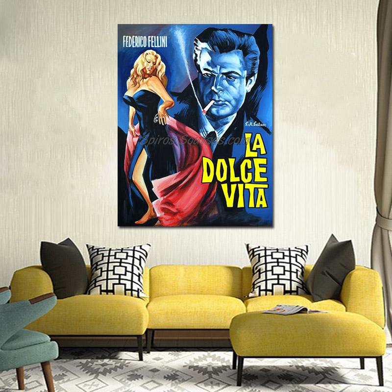 La_Dolce_vita_fellini-federico-movi-poster-painting_sofa