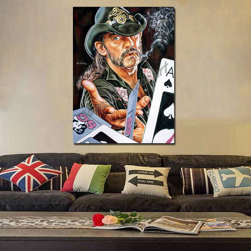 Lemmy_kilmister_painting_portrait_motorhead_poster_print_canvas_sofa
