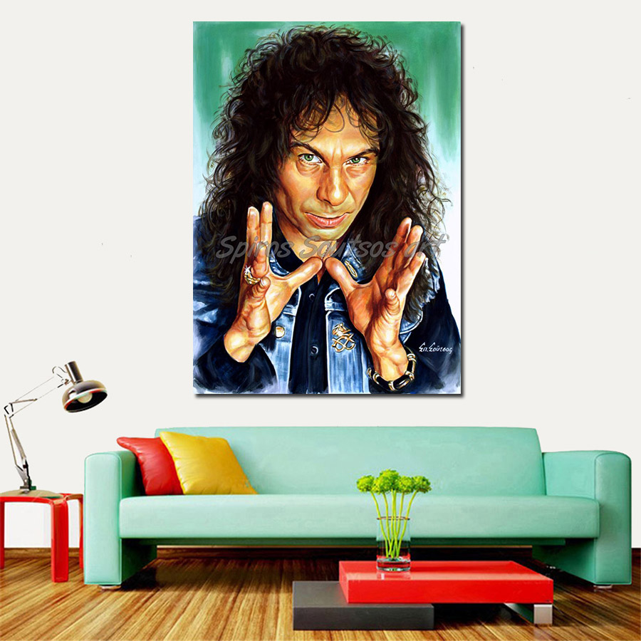 Ronnie_JameRonnie_James_Dio_painting_portrait_poster_print_canvass_Dio_painting_portrait_poster