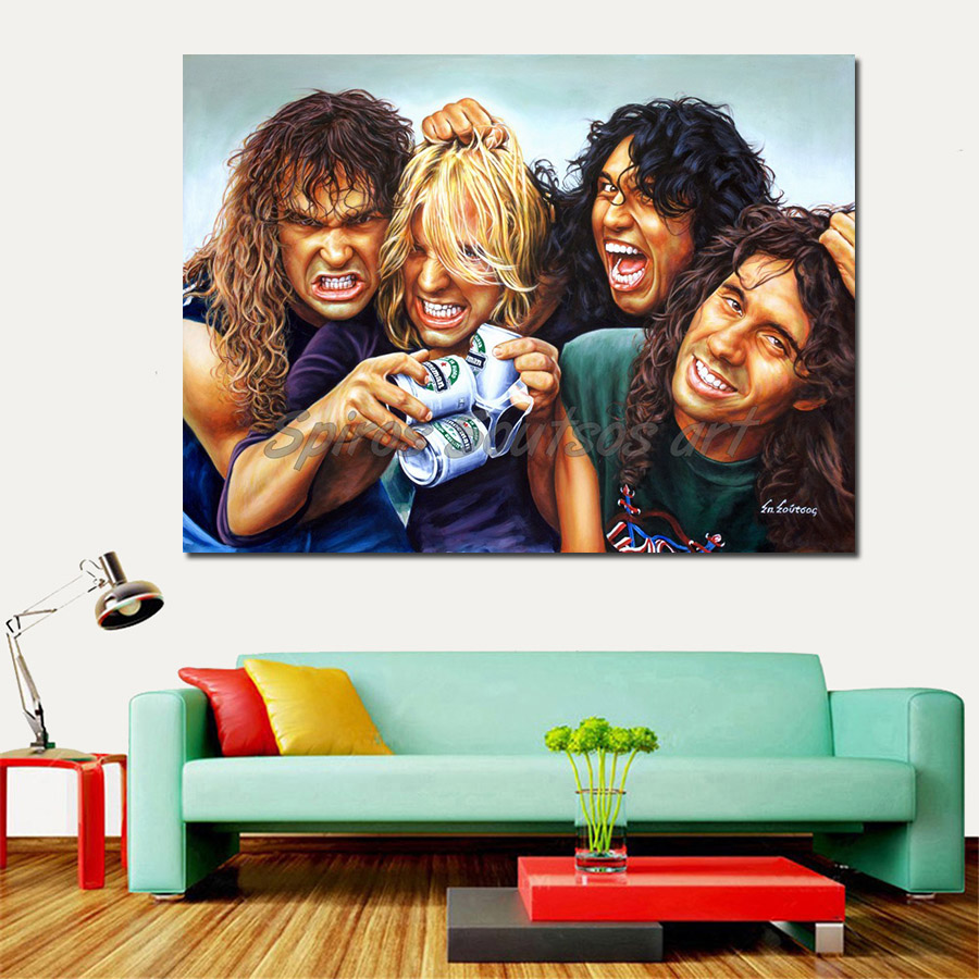 Slayer_Reign_in_blood_painting_poster_hanneman_araya_king_lombardo_portraits_print