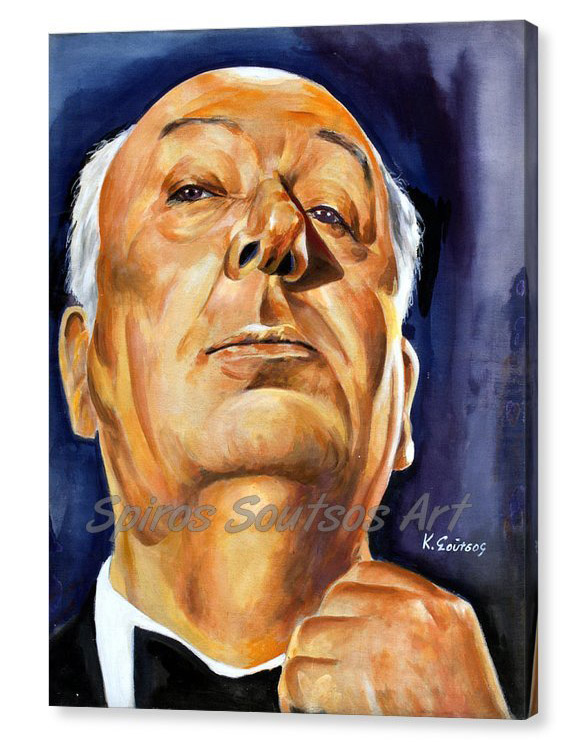 alfred-hitchcock-canvas-print_poster_portrait_painting