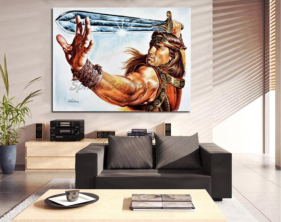 conan_barbarian_arnold_canvas_print_poster_schwarzenegger