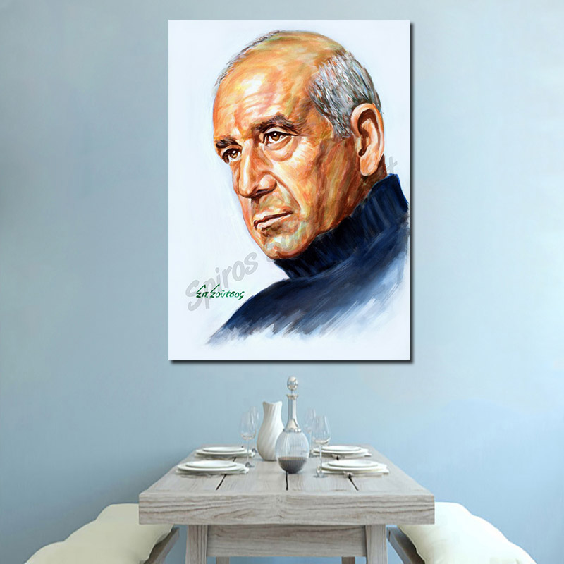 dimitris_mitropanos_portraito_afisa_pinakas_poster_zografia_sofa
