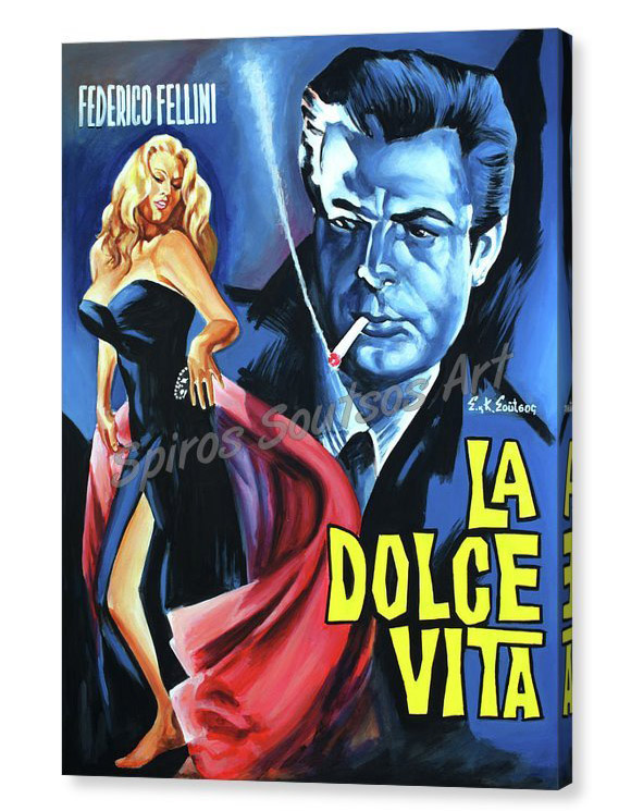 dolce-vita-spiros_painting_movie_poster_canvas-print