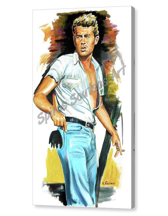james-dean-giant-spiros-soutsos-canvas-print_painting_movie_poster_portait