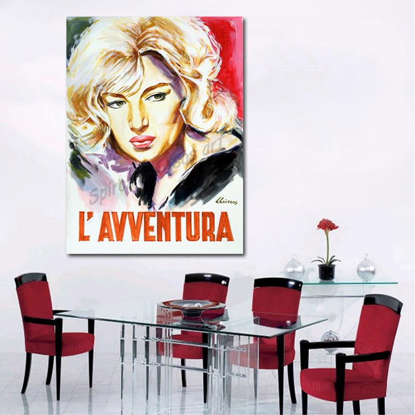 l_avventura_antonioni_movie_poster_monica_vitti_painting_portrait_canvas_decor1