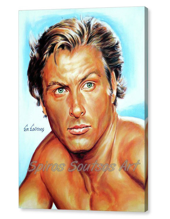 lex-barker-tarzan-of-the-apes-spiros-soutsos-canvas-print_painting_poster_movie_portrait