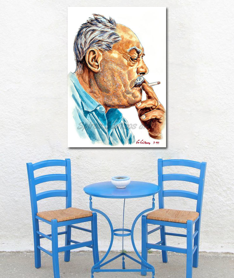markos_vamvakaris_portraito_afisa_poster_pinakas_canvas_print_decor