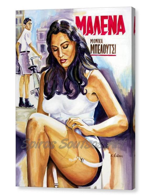 monica-bellucci-malena-kostas-soutsos-canvas-print_painting_movie_poster_portrait