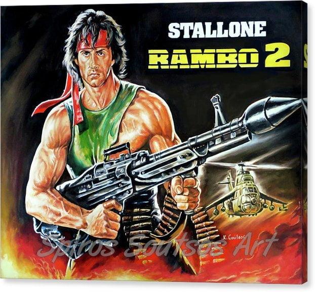 rambo-2-sylvester-stallone-paintinf-kostas-soutsos-canvas-print _painting_movie_poster_portrait