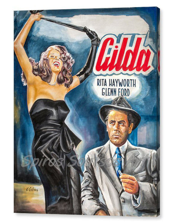 rita-hayworth-gilda-1946-kostas-soutsos-canvas-print_painting_movie_poster