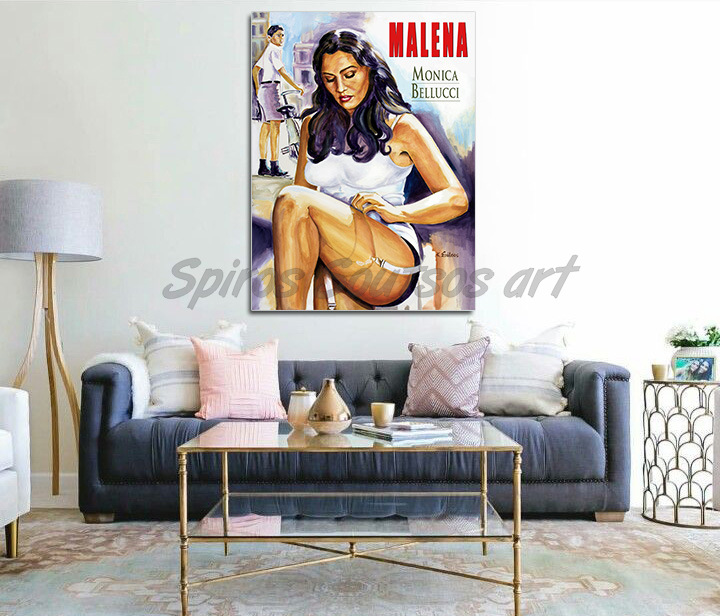 malena_monica_bellucci_print_canvas_poster_movie_acrylic_portrait_artwork