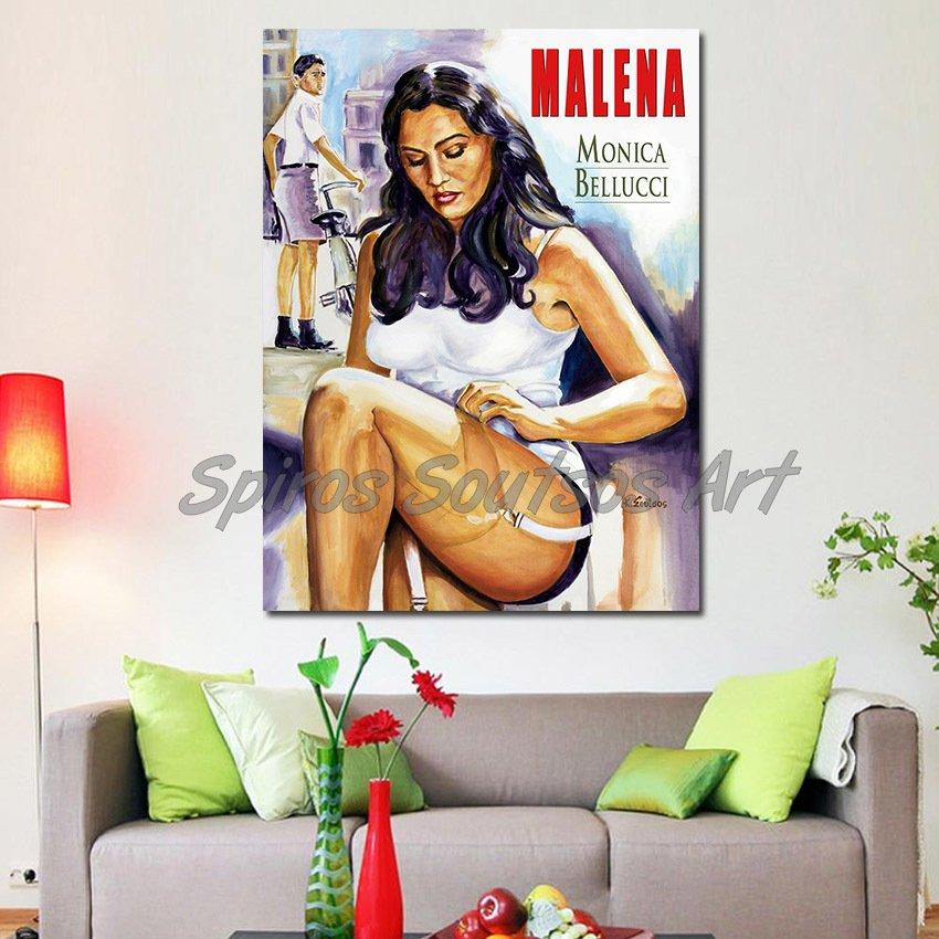 malena_monica_bellucci_print_canvas_poster_movie_acrylic_portrait_decor