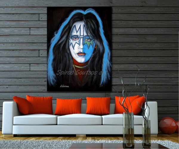 Ace_Frehley_portrait_canvas_print_painting