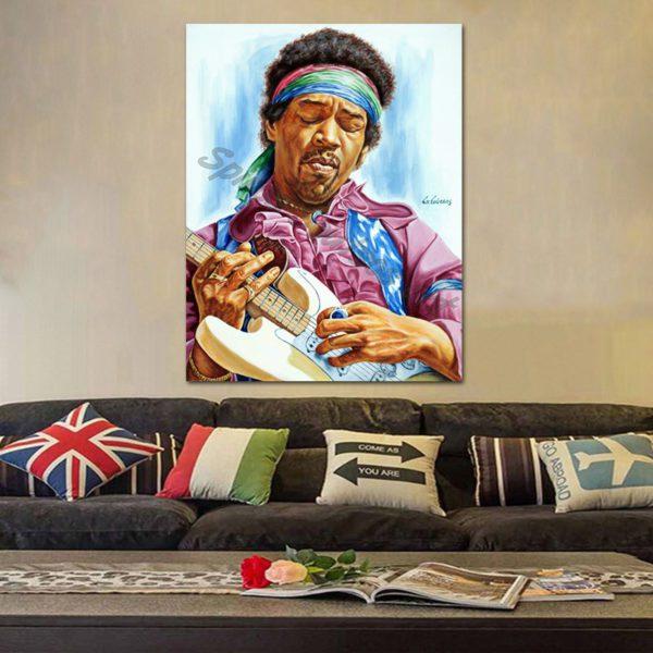 Jimi_Hendrix_painting_portrait_poster_art_original_PRINT_DECOR