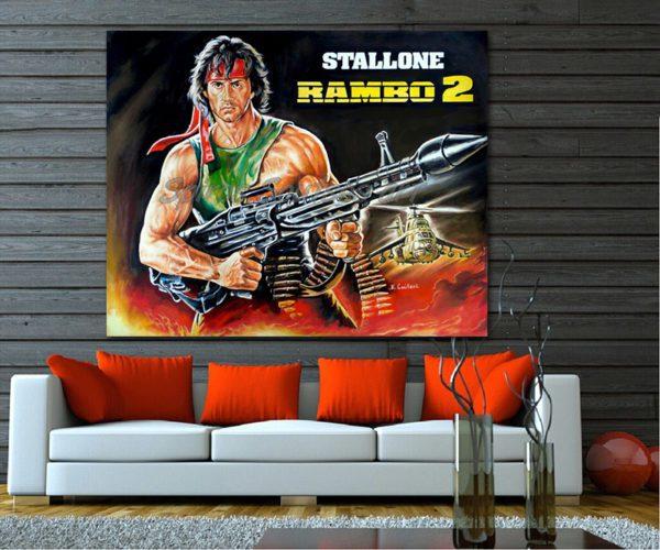 Rambo_Stallone_Sylvester_painting_poster_canvas_print_sofa