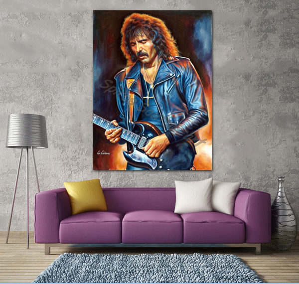 Tony_Iommi_painting_portrait_Black_Sabbath_poster_print_decor_canvas_print