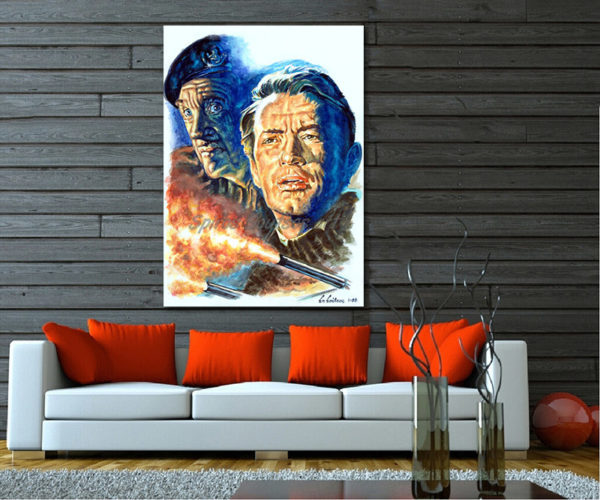 gregory_peck_painting_portrait_guns_of_navarone_movie_poster_david_niven_war_canvas_sofa_print_decor
