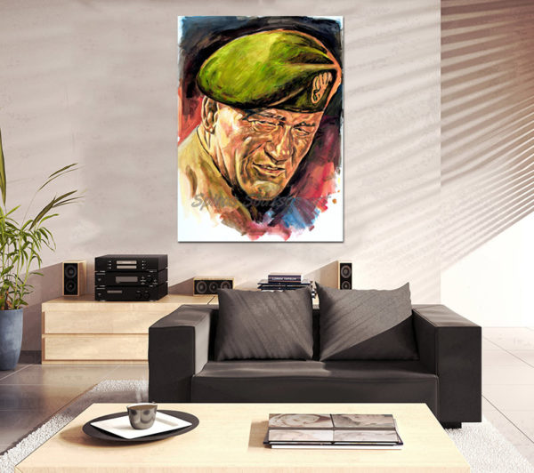 john_wayne_painting_portrait_green_berets_movie_poster_canvas_print_sofa_