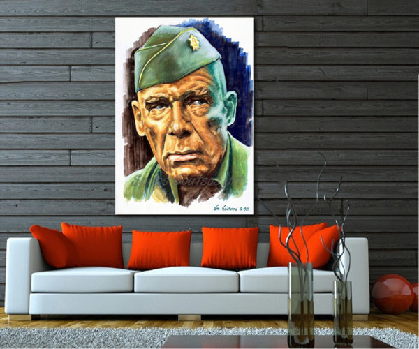 lee_marvin_portrait_dirty_dozen_movie_poster_painting_sofa