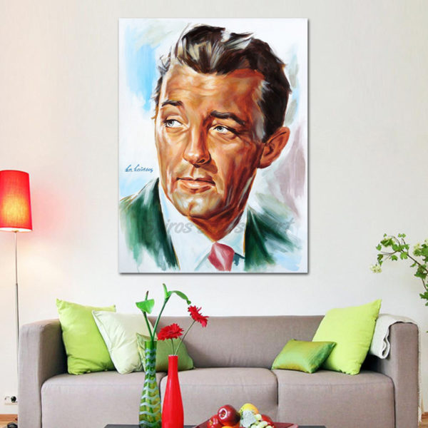 robert_mitchum_painting_portrait_poster_canvas_out_of_the_past_1947_print