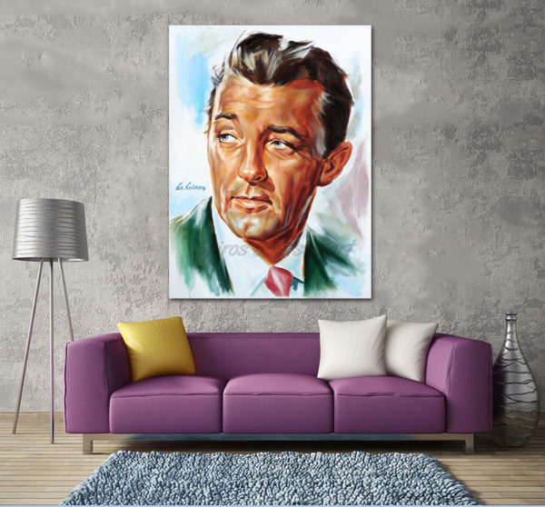 robert_mitchum_painting_portrait_poster_canvas_out_of_the_past_1947_sofa_print