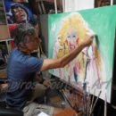 Dee_Snider_twisted_sister_portrait_painting_canvas_in_progress_soutsos_art