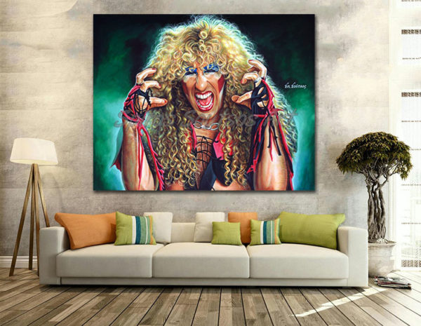 dee-snider-twisted-sister-canvas-print-painting-portrait-poster-wall-decoration