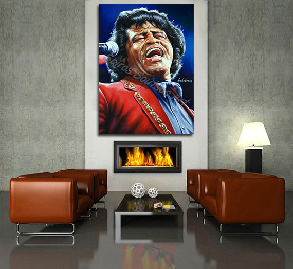 james-brown-canvas-print-painting-poster-portrait-wall-art-soul-funk