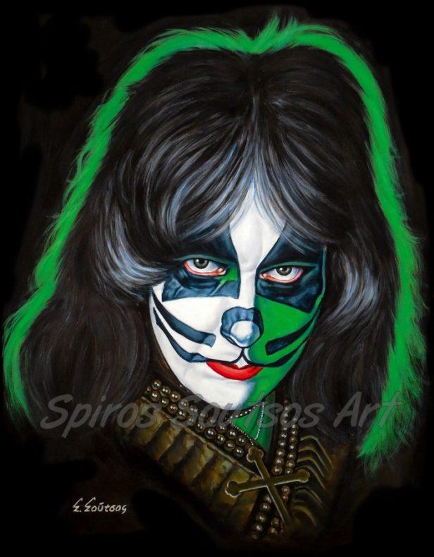 Peter_Criss_Kiss_canvas_print_painting_poster_portrait_solo