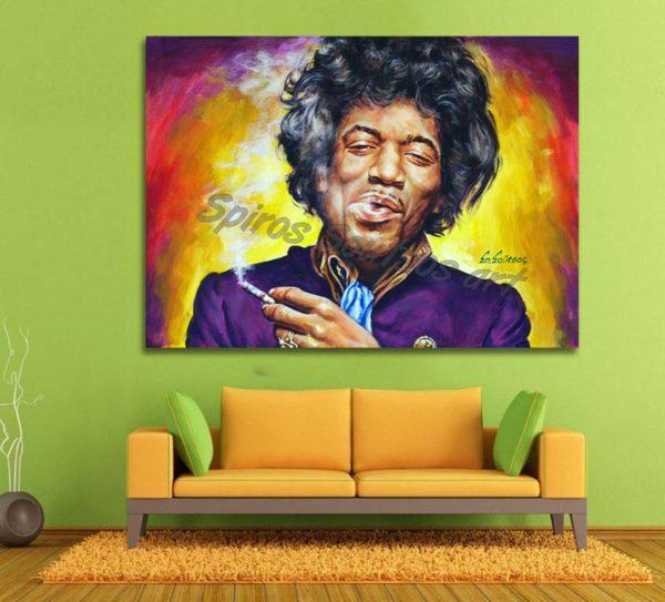 jimi-hendrix-painting-canvas-print-poster-wall-portrait-art